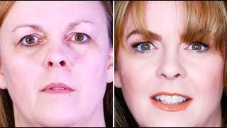 In this STEP BY STEP BEAUTY TUTORIAL FOR WOMEN OVER 40, I will share with you a stunning BROW MAKEOVER specifically for women with fine this brows using the ...