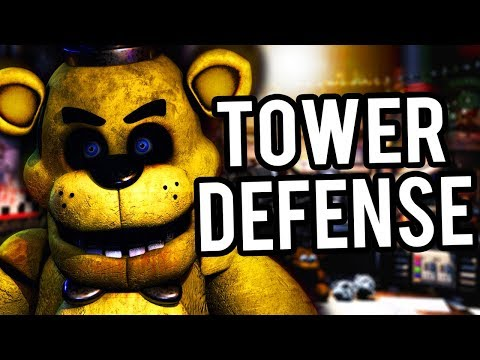 HORDES OF TERRIFYING ANIMATRONICS ATTACK.. | FNAF Tower Defense
