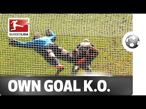 Top five own goals of the weekend