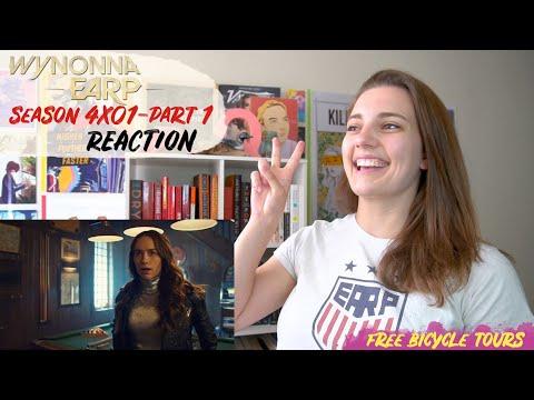 "Wynonna Earp Season 4 Episode 1 ""On the Road Again"" REACTION Part 1"