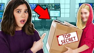 SPY GADGET MYSTERY BOX from HACKER GIRL SPY REVEALED (found valentine message from secret crush)