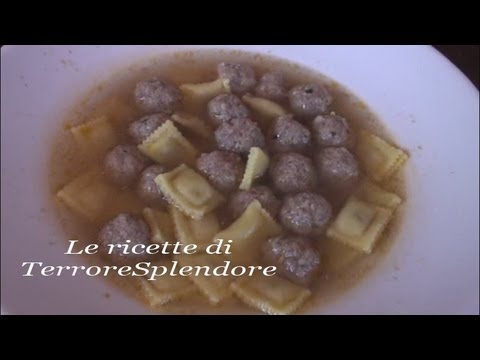 video ricetta: polpettine di carne in brodo