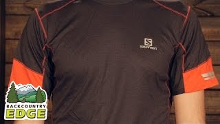 Check out the Salomon Men's Agile SS Tee at Backcountry Edge:...