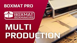Boxmat PRO - machine for making cardboard packaging