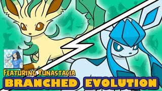 Leafeon vs Glaceon | Pokémon Branched Evolution (ft. Yunastacia) by Ace Trainer Liam