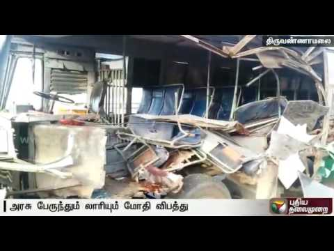 One-killed-and-6-injured-as-government-bus-rams-into-stationary-lorry-with-granite-stones