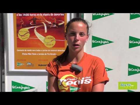 Entrevista a Marta Sexmilo en la Fiesta del Tenis Navarro