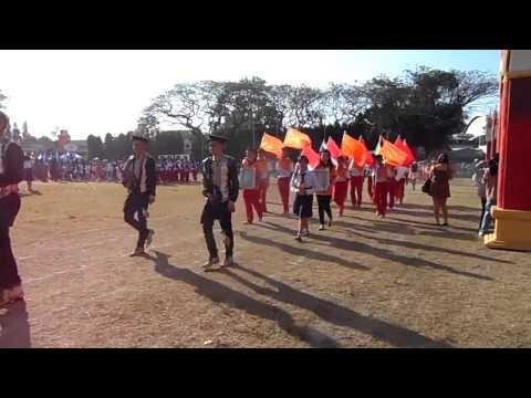 ขบวนพาเหรดสีแสด  กีฬาสีโรงเรียนอัสสัมชัญอุบลราชธานี  ประจำปีการศึกษา  2556