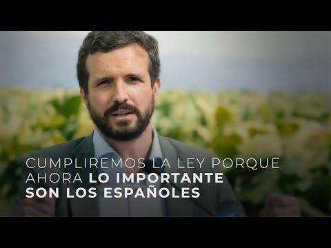 Cumpliremos la ley porque ahora lo importante son los españoles