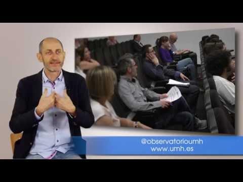 Domingo Galiana nos explica la misión del Observatorio Ocupacional de la UMH[;;;][;;;]