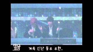 [HD Fancam] 121229 INFINITE during Beautiful Night (Beast's performance)
