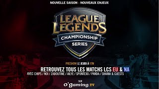 Les LCS reprennent sur O'Gaming !
