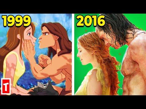 Behind The Scenes Of Disney's Tarzan (1999 Vs. 2016)