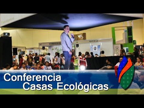 Grabación Conferencia Casas Ecológicas – Cemaer en Expo Enverdeser