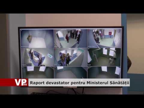 Raport devastator pentru Ministerul Sănătății