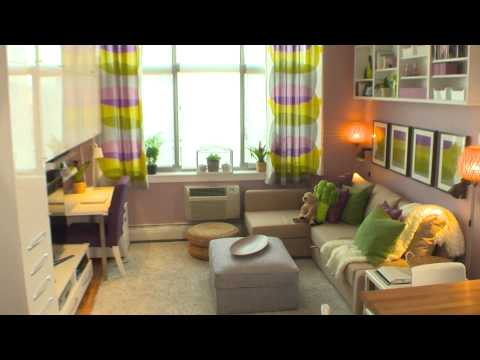 ikea - In the thirteenth episode of IKEA Home Tour, the Home Tour Squad brings small living room ideas to the Marshalleck family and helps them create an organized,...