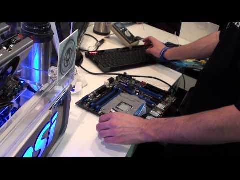 [Test - Hardware] Salon ITPartners, MSI refroidissement à l'Azote liquide