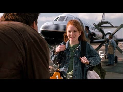 the parent trap (1998)- annie meets her dad! HD