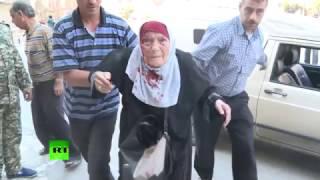 28 человек пострадали при обстреле Алеппо