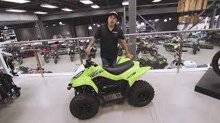 9. Kawasaki KFX90 2018 | Présentation par Max