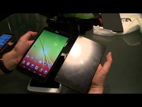 LG G Pad 8.3 Hands On und Kurztest – Vergleich mit iPad mini und Nexus 7 (Deutsch – German)