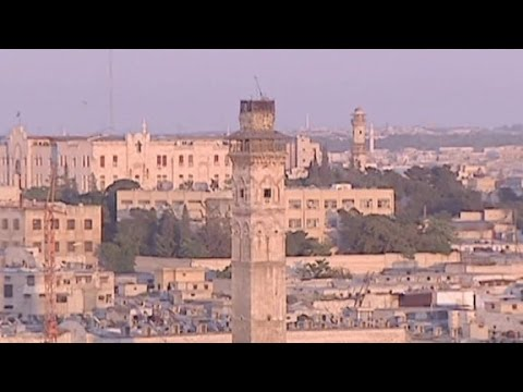 Ancient city of Aleppo: Before and after