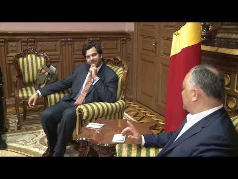 Președintele Republicii Moldova, Igor Dodon s-a întîlnit cu Ludwig Sayn-Wittgenstein