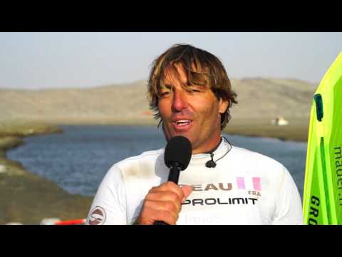 Antoine Albeau sets new windsurf speed record! 53.27 knots