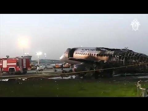 Έρευνες για το αεροπορικό δυστύχημα στη Μόσχα