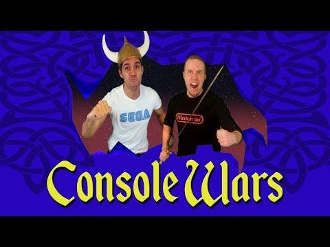 Console Wars - The Lost Vikings - Super Nintendo vs Sega Genesis