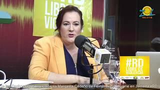 Janet Camilo ministra de la mujer en la jornada #RDLibreDeViolencia por Zolfm