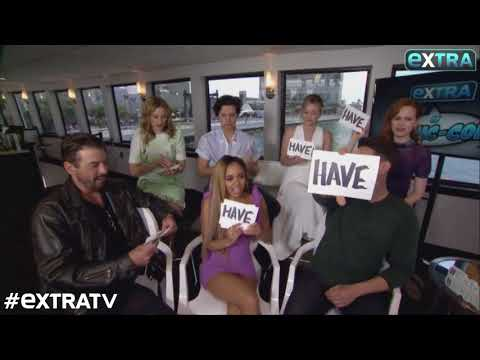 Watch! 'Riverdale' Plays 'Never Have I Ever' Game at SDCC