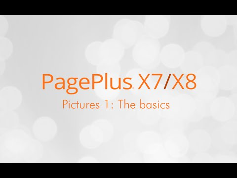 Serif PagePlus X7 & X8 Tutorial - Working with Pictures (1 of 3)