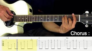 Masih Mencintainya - Papinka - Fingerstyle Guitar Tutorial.