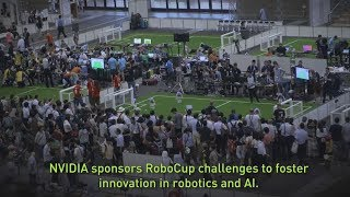 Watch early action at RoboCup 2017 and teams from the Amazon Picking Challenge, RoboCup@Home League and Humanoid League.