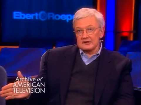 """Roger Ebert on how """"thumbs up, thumbs down"""" came about - EMMYTVLEGENDS.ORG"""