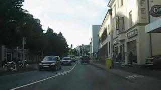 Olpe Germany  City new picture : Driving in Olpe, Germany (South-North)