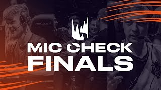 LEC Mic Check: Rotterdam Finals (Spring 2019) by League of Legends Esports