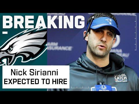 Philadelphia Eagles Expected to Hire Nick Sirianni as Head Coach