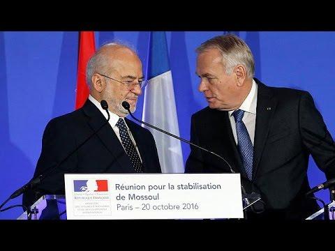 Συνομιλίες στο Παρίσι για το μέλλον της Μοσούλης