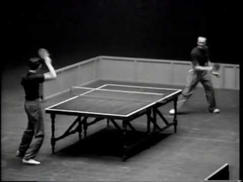 Table-tennis wizard Marty Reisman dazzled crowds for decades. By Harold Evans.