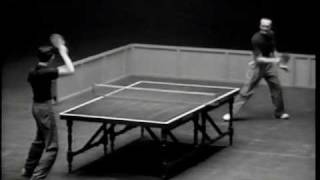 Marty Reisman vs Victor Barna (1949 English Open)