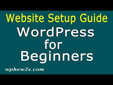 WordPress for Beginners – Step by Step Website Guide, Simple!