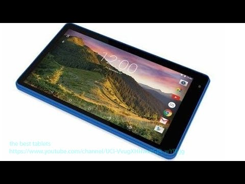 RCA 7 Voyager II Review Tablet HD Display 4C Android 5.0 RCT6773W22B BLUE