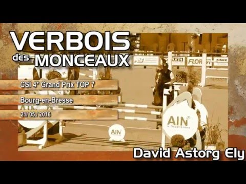 David Astorg Ely et Verbois des Monceaux BOURG CSI4* Grand Prix TOP 7 Qualif