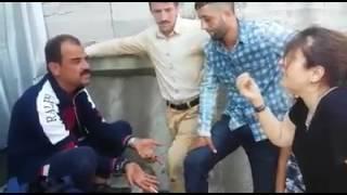 Eminönü'nde tacizci vatandaşlar tarafından böyle tepki gördü