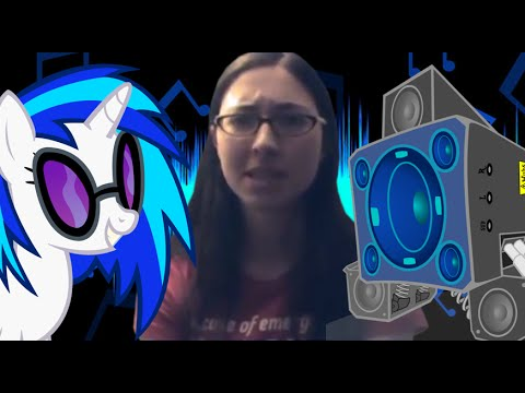 "Nowacking (Vinyl Scratch) Saying ""Bass Cannon"" Around 700 Times"