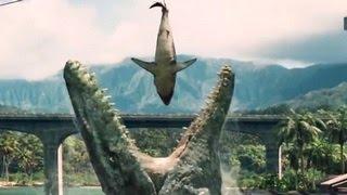 Jurassic World - Official Trailer - Steven Spielberg, Chris Pratt Movie - Released