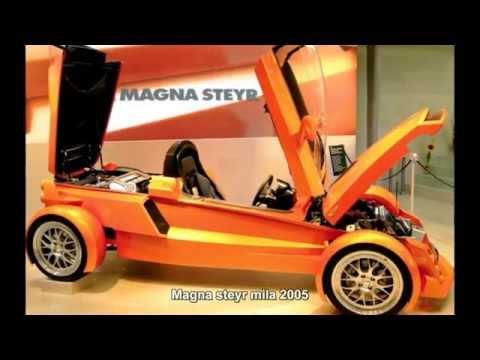 #2683. Magna steyr mila 2005 (Prototype Car) (видео)