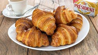Croissante cu unt | French Croissants (CC Eng Sub) | JamilaCuisine